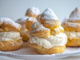 Italian Cream puffs Cake recipe
