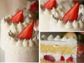 Japanese Strawberry sponge cake recipe