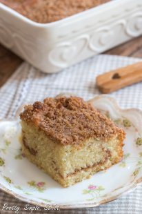 Ultimate Cinnamon Streusel Coffee Cake