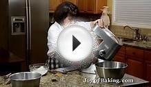 Angel Food Cake Recipe Demonstration - Joyofbaking.com