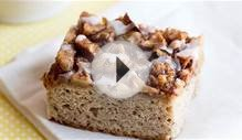 Apple-Crowned Coffee Cake Recipe