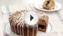 Blueberry-Buttermilk Muesli Coffee Cake Recipe