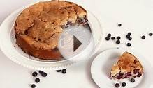 Blueberry Vanilla Bean Coffee Cake Recipe - Laura in the