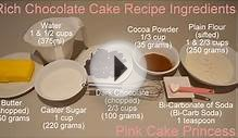 Chocolate Cake Recipe - Easy Cake How to by Pink Cake Princess