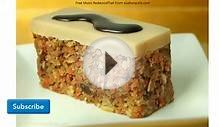 Christmas Healthy Carrot Cake Recipe