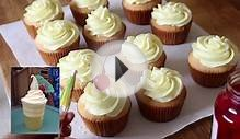 Dole Whip Inspired Pineapple Cupcakes | sweetco0kiepie