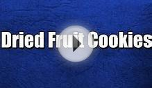 Dried Fruit Cookies - Fruit Recipes - Diabetic Recipes