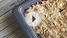 Easy Cherry Cobbler Using Box Cake Mix Recipe | Mom Spark