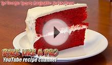 Easy Red Velvet Cake Recipe By BakeLikeAPro - I Love