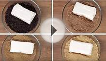 He Mixes His Favorite Cookies With Cream Cheese To Make a