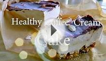 Healthy Vegan Coffee Cream Cake | ibringmotivation