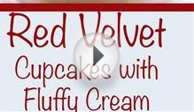 How to Make Super Moist Red Velvet Cupcakes