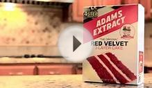 New From ADAMS® - Red Velvet 3 layer Cake (30 second