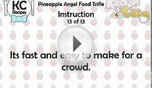 Pineapple Angel Food Trifle - Kitchen Cat