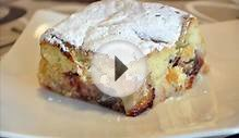 Plum Cake, Quick and Easy Cake, Fresh or Frozen Fruit