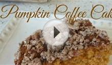 Pumpkin Coffee Cake - Low Fat