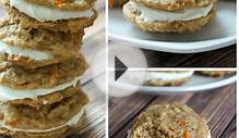 Recipe for Carrot Cake Sandwich Cookies with Cream Cheese