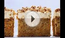 Simple Carrot Cake Recipe With Cream Cheese Frosting