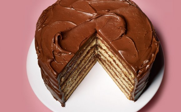Yellow Cake Chocolate Frosting recipe
