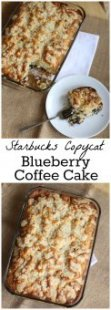 you are likely to love my form of this light blueberry coffee dessert recipe! It is my copycat version of the Starbucks specialty.
