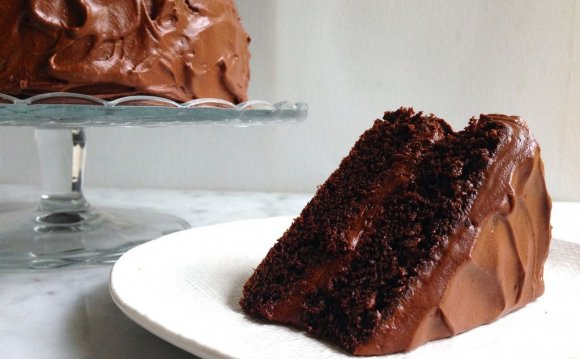 Ghirardelli Chocolate Cake recipe